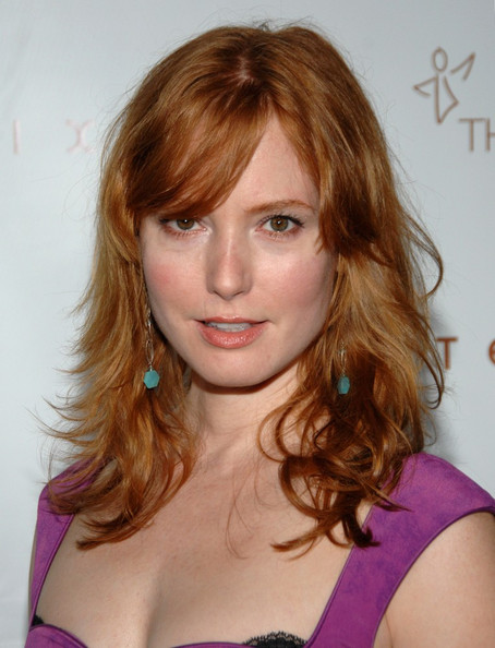 More Pics of Alicia Witt Platform Pumps (1 of 3) - Alicia Witt Lookbook - StyleBistro