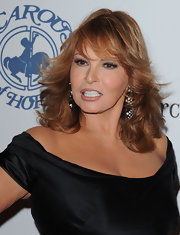 Raquel Welch wore her wavy tresses down at the Carousel of Hope gala.