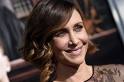 Vera Farmiga looked darling wearing a bob with curly ends at the premiere of 'The Judge.'