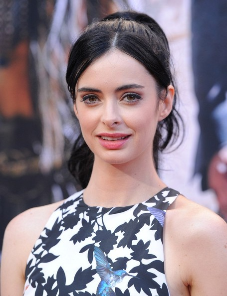More Pics of Krysten Ritter Ponytail (1 of 9) - Ponytail Lookbook - StyleBistro