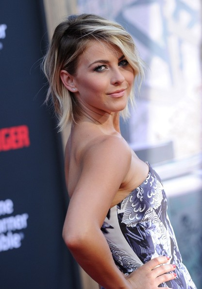 More Pics of Julianne Hough Layered Razor Cut (1 of 22) - Julianne Hough Lookbook - StyleBistro