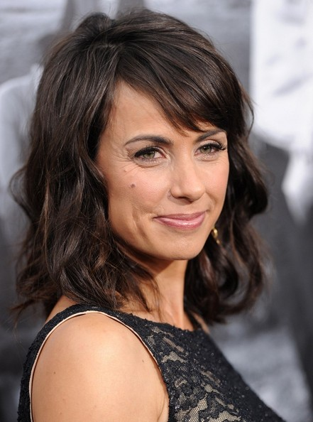 More Pics of Constance Zimmer Pink Lipstick (1 of 10) - Pink Lipstick Lookbook - StyleBistro