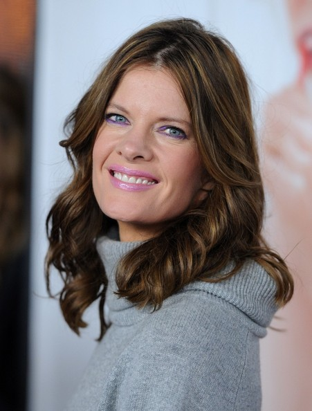 More Pics of Michelle Stafford Medium Curls (1 of 4) - Michelle Stafford Lookbook - StyleBistro