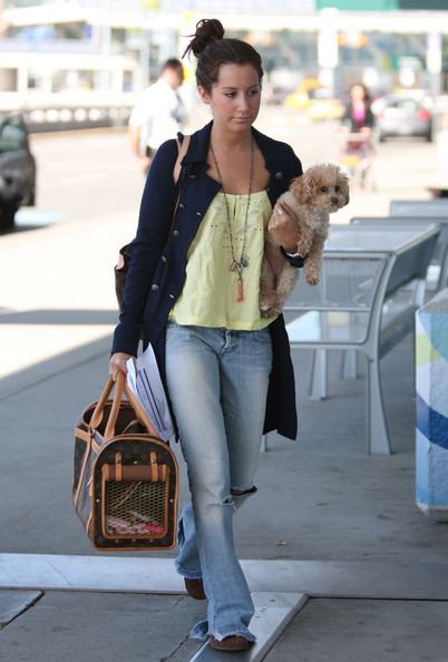 More Pics of Ashley Tisdale Dog Carrier Duffle (5 of 6) - Ashley Tisdale Lookbook - StyleBistro
