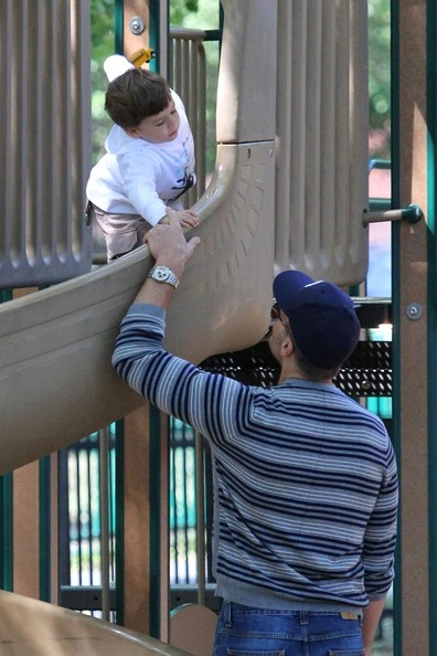 Tom Brady and Family Have Fun at the Park