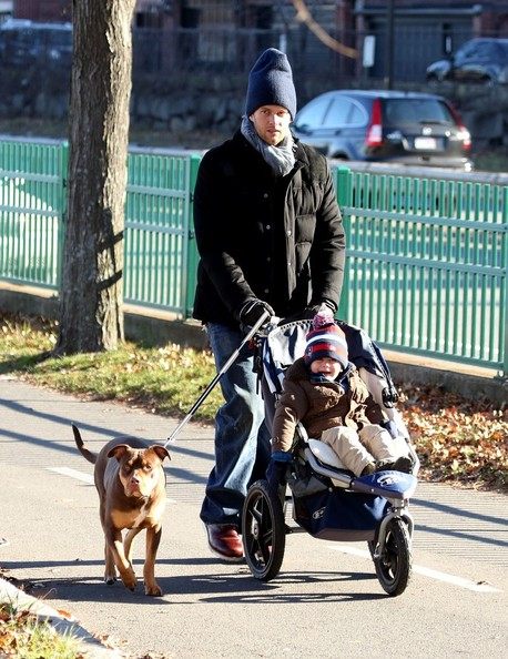Tom Brady Spends Quality Time With His Son Benjamin