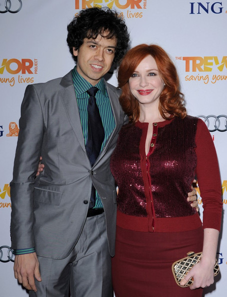 More Pics of Christina Hendricks Evening Sandals (1 of 10) - Christina Hendricks Lookbook - StyleBistro