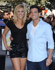 Ashley wore some lovely sparkly shorts at the 'Twilight Eclipse' premiere.