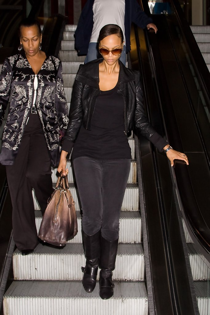 Tyra Banks Leather Jacket Tyra Banks Looks Stylebistro