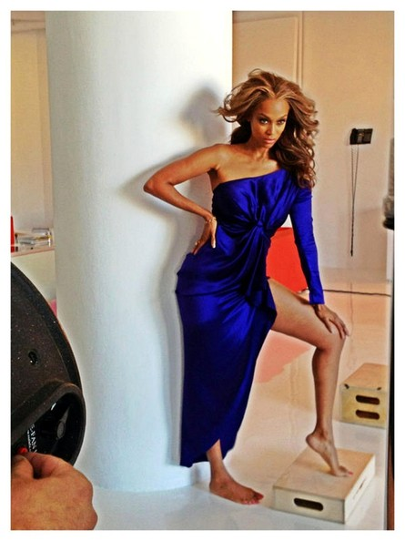 Tyra Banks' photoshoot