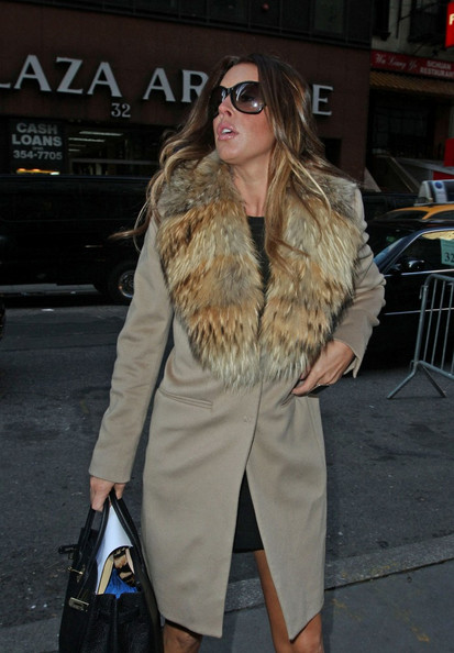 More Pics of Rachel Uchitel Leather Tote (1 of 6) - Rachel Uchitel Lookbook - StyleBistro