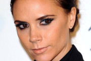 Victoria Beckham's Metallic Eyeshadow at the 2011 British Fashion Awards