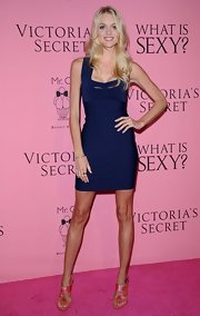 Lindsay Ellingson showed us exactly why Victoria's Secret Models and bandage dresses are BFFs.