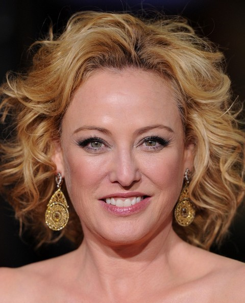 Virginia Madsen Gold Dangle Earrings