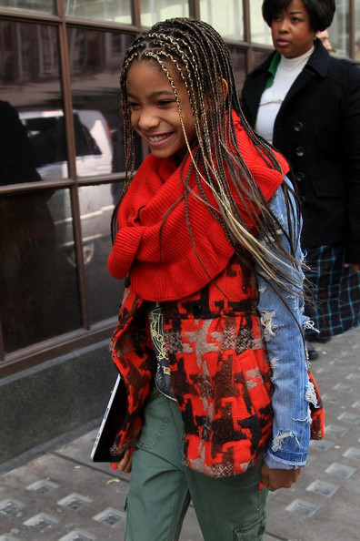 More Pics of Willow Smith Long Braided Hairstyle (1 of 11) - Long Braided Hairstyle Lookbook - StyleBistro
