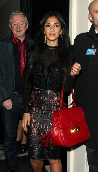 More Pics of Nicole Scherzinger Oversized Satchel (1 of 7) - Oversized Satchel Lookbook - StyleBistro