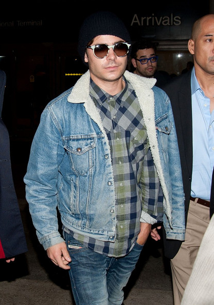 Zac Efron Denim Jacket