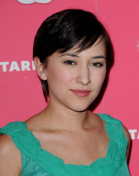 Zelda Williams Short Side Part []
