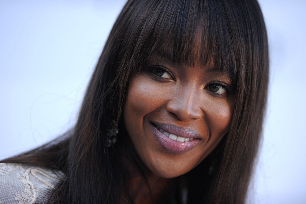 Naomi Campbell Hair Bangs More Pics of Naomi Campbell
