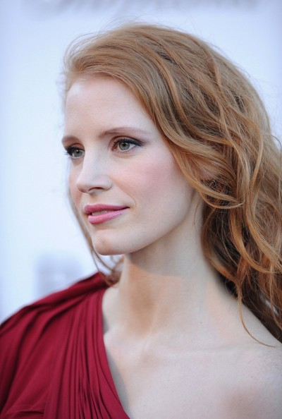 More Pics of Jessica Chastain One Shoulder Dress (1 of 6) - One Shoulder Dress Lookbook - StyleBistro