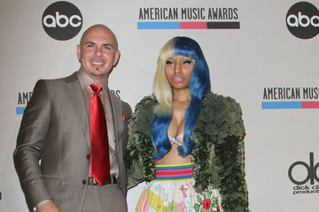 Pitbull Nicki Minaj 2011 American Music Awards Nominees Press Conference