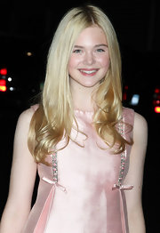 Elle Fanning wore her hair long and silky smooth at the 2011 Children of Chernobyl's Children at Heart Gala.