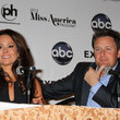 Chris Harrison and Brooke Burke