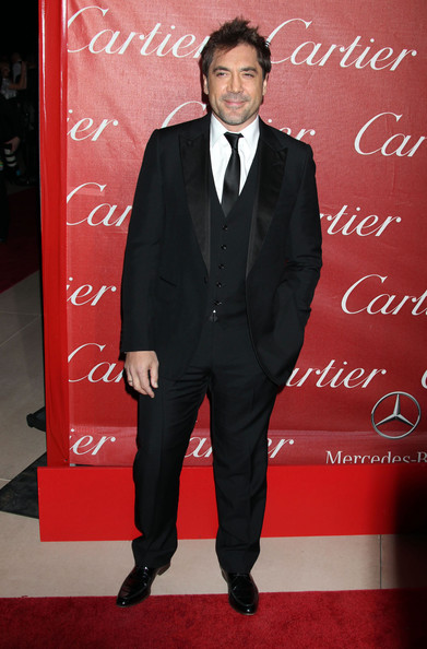 Javier Bardem rocked a classic suit at the Palm Springs International Film Festival.