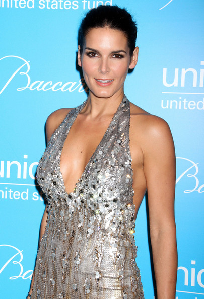 More Pics of Angie Harmon Beaded Dress (1 of 8) - Angie Harmon Lookbook - StyleBistro