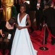 Lupita Nyong'o (in Prada) as Cinderella