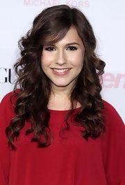 Erin showed off her long curls while hitting the Teen Vogue Young Hollywood event.