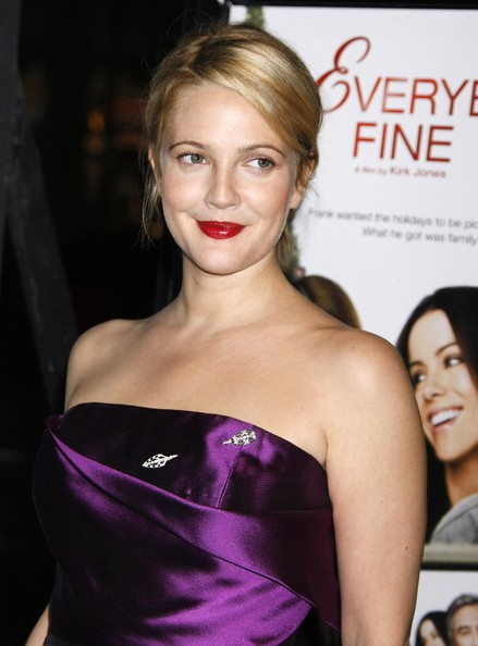More Pics of Drew Barrymore Diamond Pin (5 of 24) - Drew Barrymore Lookbook - StyleBistro