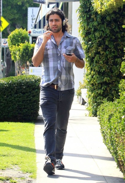 Adrian Grenier Button Down Shirt