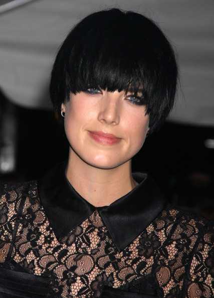 Agyness Deyn Bowl Cut []