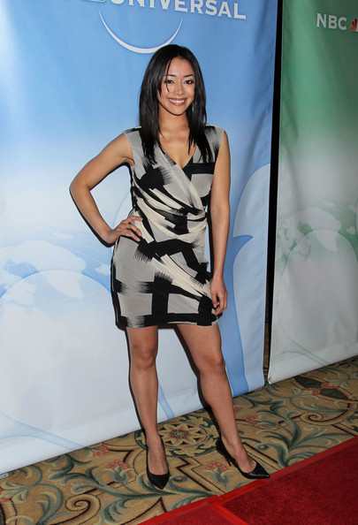 Aimee Garcia Print Dress