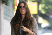 Alanis Morissette Leather Tote