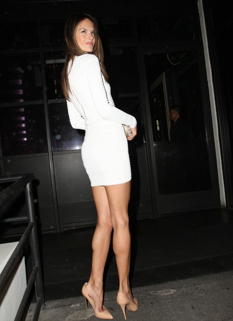 Alessandra Ambrosio's Birthday Night