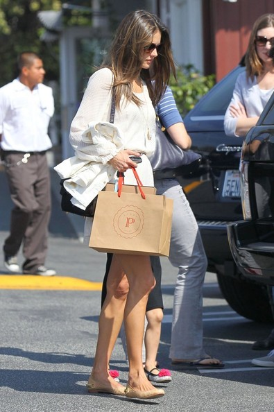 More Pics of Alessandra Ambrosio Day Dress (1 of 22) - Alessandra Ambrosio Lookbook - StyleBistro