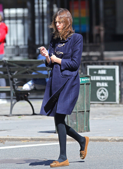 More Pics of Alexa Chung Embellished Flats (1 of 7) - Alexa Chung Lookbook - StyleBistro