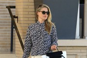 Ali Larter Leather Tote