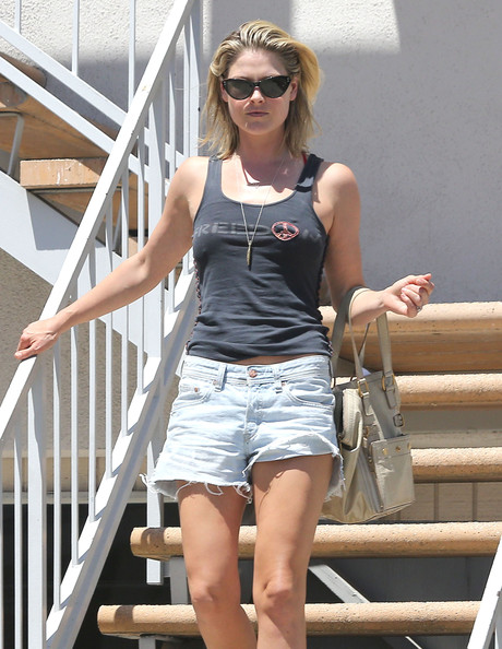 Ali Larter Denim Shorts