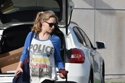 Amanda Seyfried Knit Hobo Bag