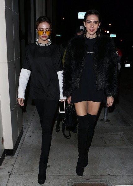 Amelia Hamlin Over the Knee Boots