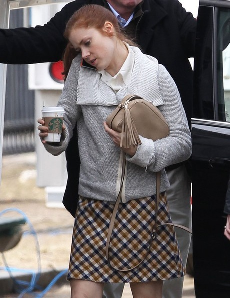More Pics of Amy Adams Mini Skirt (1 of 10) - Amy Adams Lookbook - StyleBistro