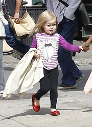 Vivienne Jolie Pitt's leggings were a comfy way to take on the day.