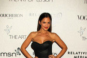 Celebrities are pictured arriving at the Art of Elysium's 3rd Annual Black Tie Gala