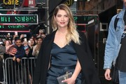 Ashley Benson Wool Coat