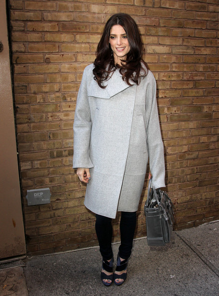 Ashley Greene Wool Coat