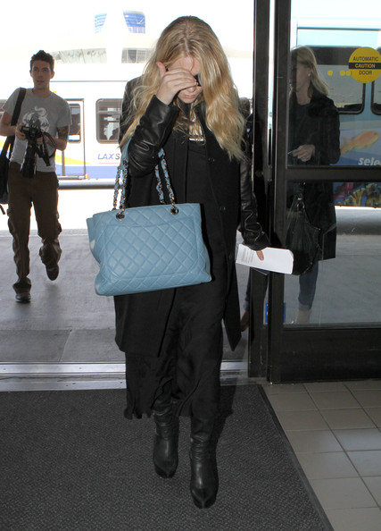 Ashley Olsen Oversized Satchel