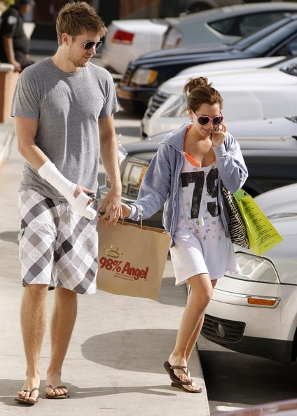 More Pics of Ashley Tisdale Neon Sunglasses (1 of 10) - Ashley Tisdale Lookbook - StyleBistro